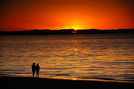 Listening to The Sunset by Nik Watt