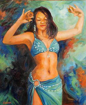 Lithe Dancing Girl by Ekaterina Mortensen