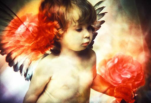 Renata Ratajczyk - Little Angel with Rose