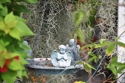 Little Angels Bird Bath by Bill Cannon
