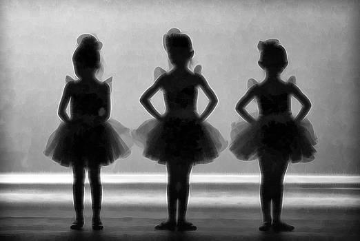 Little Ballerinas II by Athena Mckinzie