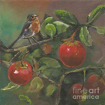 Little Bird in the Apple Tree by Jan Dappen