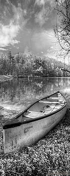 Debra and Dave Vanderlaan - Little Bit of Heaven Black and White Panorama