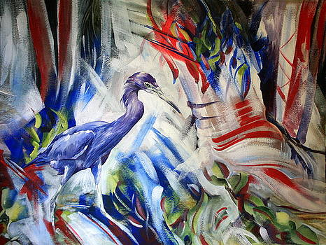 Little Blue Patriot by Kitty Harvill