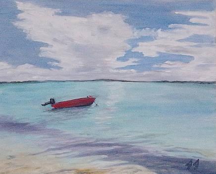 Little boat by Jaren Johnson