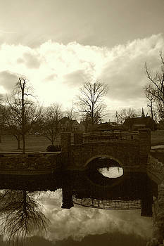 Nina Fosdick - little bridge reflection