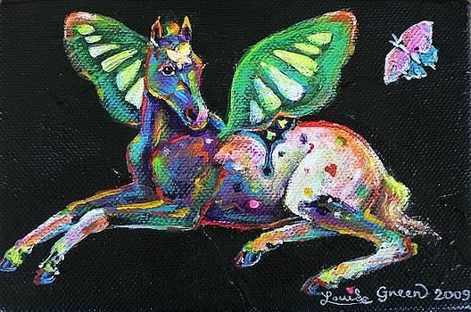 Little Butterfly Pony by Louise Green