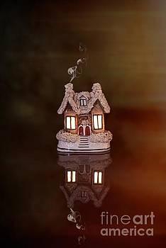 Little Ceramic House by Amanda Elwell