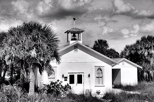 Little Church in Black White by Rosalie Scanlon