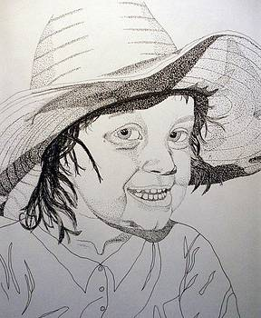 Little Cowgirl by Michael Runner