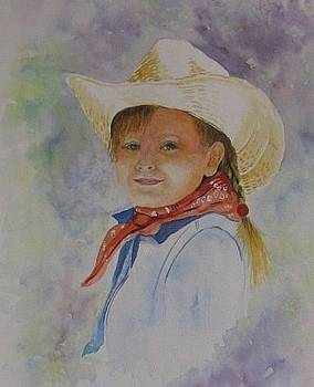 Little Cowgirl by Vera Rodgers