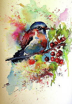 Little cute bird by Kovacs Anna Brigitta