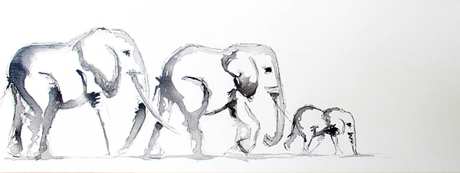 Little Elephant Family by Tracey Armstrong