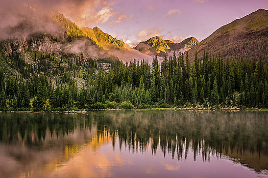 Little Emerald Lake by Whit Richardson