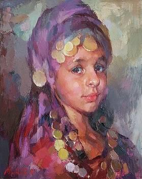 ...little Esther.. by Vadim Makarov