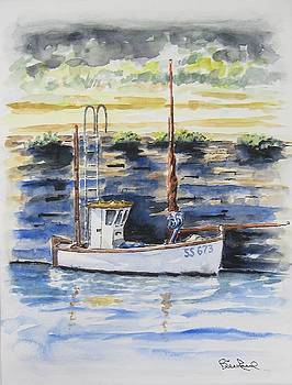 Little Fishing Boat by William Reed