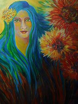 Little Flower Girl by Carolyn LeGrand