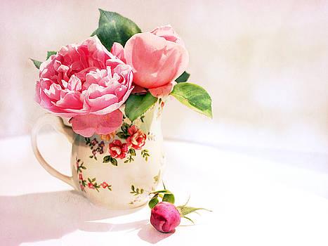 Little Flowered Jug by Margaret Hormann Bfa