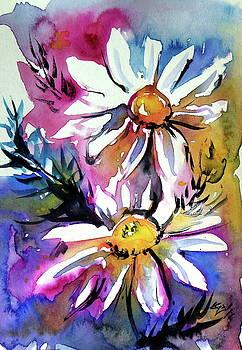 Little flowers -postcard by Kovacs Anna Brigitta