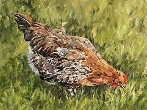 Little French Hen by Cheryl Pass