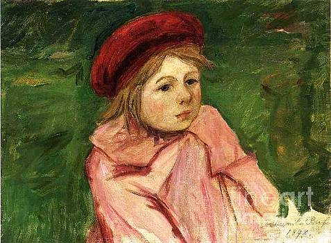 Cassatt - Little Girl In A Red Beret