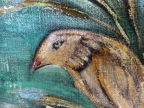 Little Golden Hawk by Jeannine Sandoval