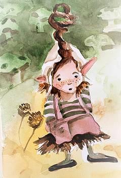 Little Hobgoblin Girl by Mindy Newman