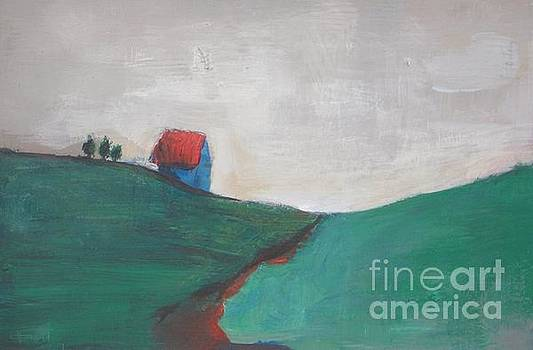 Little House on the Hill by Vesna Antic