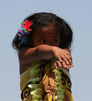 Little Hula Dancer by Cynthia Marcopulos