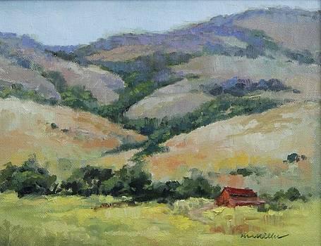 Little landscape by Maralyn Miller