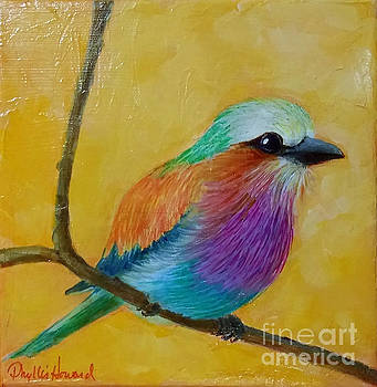 Phyllis Howard - Little Lilac Breasted Roller