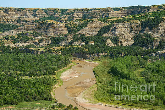 Bob Phillips - Little Missouri River Badlands Four
