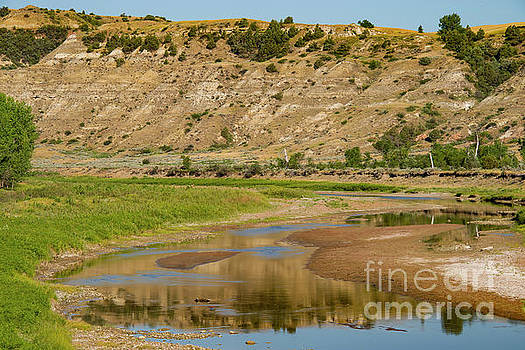 Bob Phillips - Little Missouri River Reflections