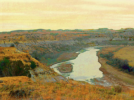 Little Missouri River Reverie by Cris Fulton