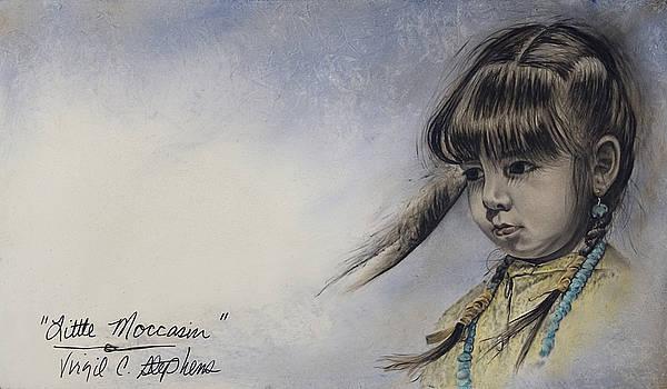 Little Moccasin by Virgil Stephens
