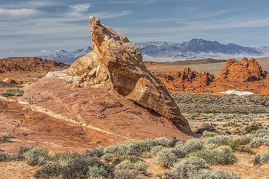 Little Monument in Valley of Fire by JHR photo ART