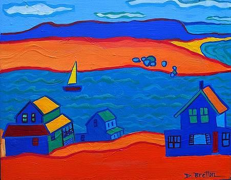Little Neck Cottages by Debra Bretton Robinson