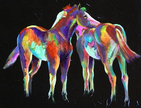 Little Paint Ponies by Louise Green