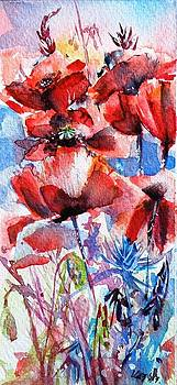 Little poppies 133 by Kovacs Anna Brigitta