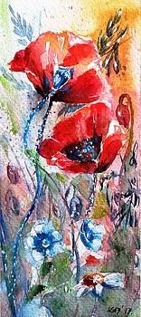Little poppies 134 by Kovacs Anna Brigitta