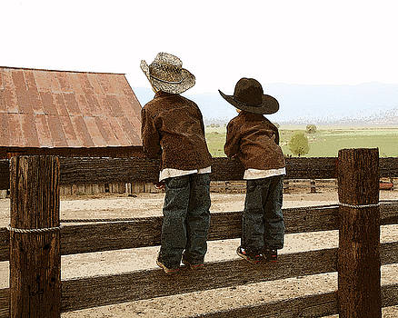 Little Ranch Hands by Greg Iger