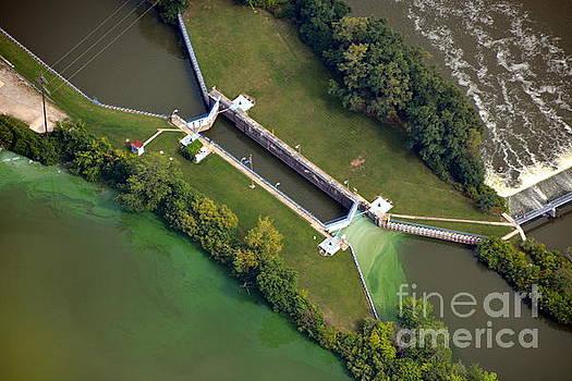 Little Rapids Lock by Bill Lang
