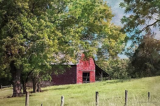 Little Red Barn by Melissa Bittinger