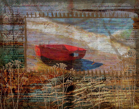Little Red Boat by Nadine Berg