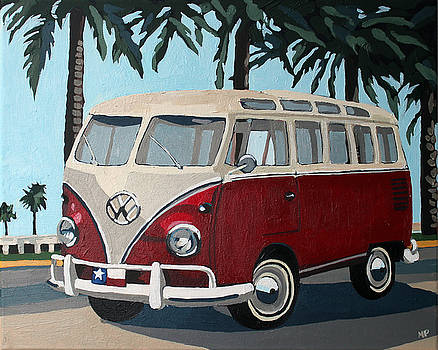 Little Red Bus by Melinda Patrick