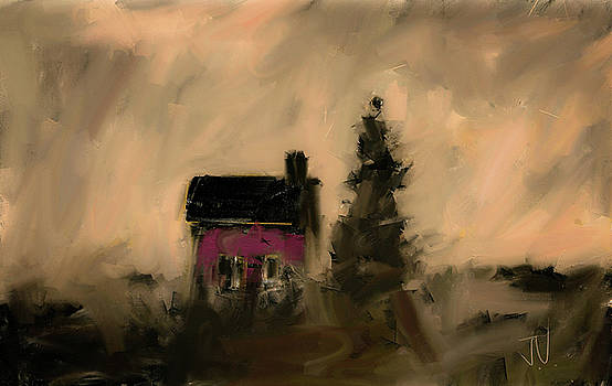 Little Red House II by Jim Vance