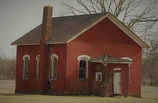 Little Red Schoolhouse by Susie Gordon