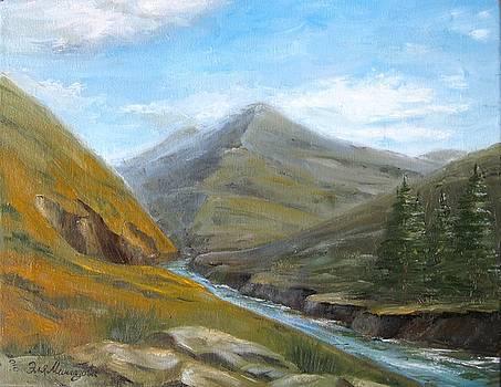 Little river by Eleonora Mingazova