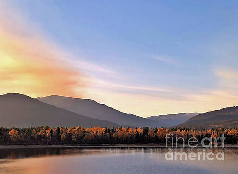 Little River In The Fall 2 by Victor K