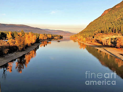 Little River in The Fall 4 by Victor K